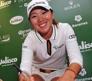 La sudcoreana In-Kyung Kim, ganadora del torneo