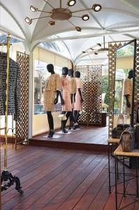 Chanel-boutique en la encantadora isla de Capri.