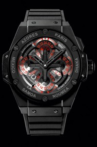 Hublot-King Power Unico GMT ceramic de Hublot