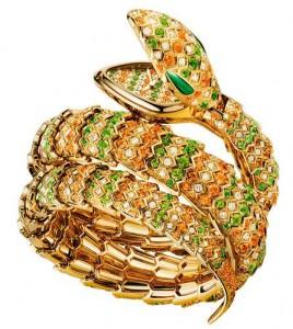 Bulgari-reloj brazalete serpenti