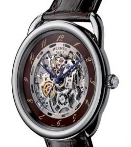 Hermès-reloj Arceau Squelette