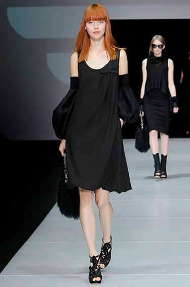 Emporio Armani 1 - Un look sofisticado para lucir elegante este invierno