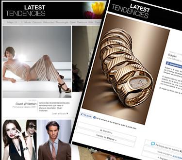 Latest Tendencies 2 - Lo mejor de lo mejor en moda, lujo y estilo para hombres y mujeres - Julio 2011