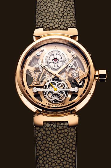 Louis Vuitton 1 - Baselworld 2011, el Salón Mundial de la Relojería y la Joyería, en Basilea.