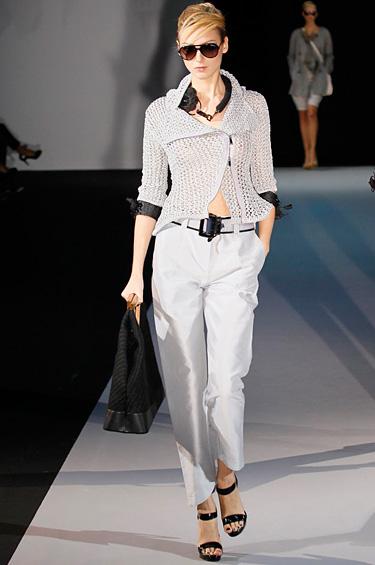 Emporio Armani 1 - Colección de mujeres Primavera-Verano 2011