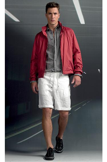 Zegna Sport 1 - Primavera-Verano 2011, diseño inspirado en el automovilismo