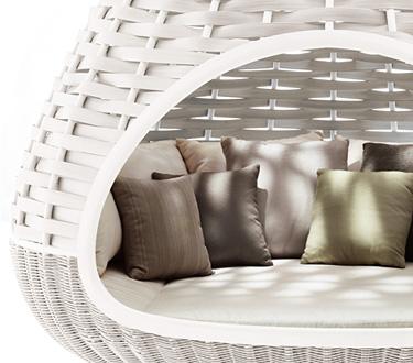 Esencial - Colección exclusiva DEDON Primavera 2011, muebles tejidos a mano para exterior 2