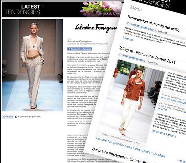 Latest Tendencies 1 - Lo último en moda para hombre y mujer - Mayo 2011