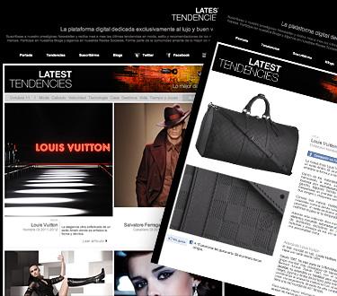 Latest Tendencies 2 - Lujo y estilo para hombres y mujeres en esta temporada otoño-invierno 2011 - Noviembre 2011
