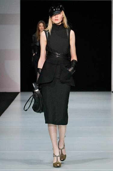 Emporio Armani 1 - Colección dama Otoño-Invierno 2011