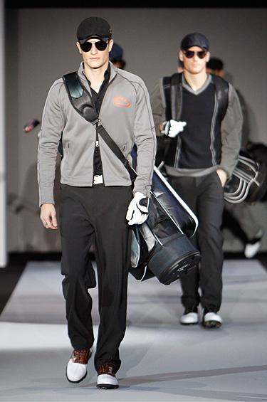 Emporio Armani 1 - Colección de caballeros, Golf Otoño-Invierno 2011-2012