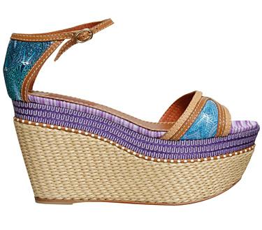 Gran Vía 1 - Missoni, el calzado para esta temporada primavera-verano que llega con todo su esplendor