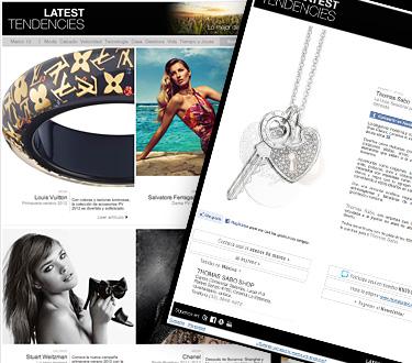 Latest Tendencies 2 - Lujo y estilo para hombres y mujeres en esta temporada de primavera 2012 - Abril 2012