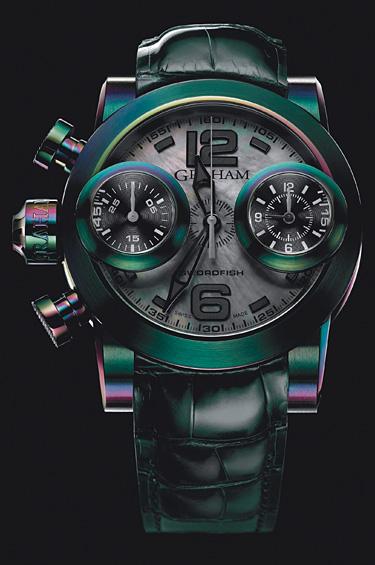 Graham 1 - Una multitud de colores hipnótica, una obra de arte tecnológica