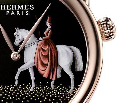 Hermès 2 - Un reloj que exalta el espíritu de la casa Hermés con un savoir faire artesano