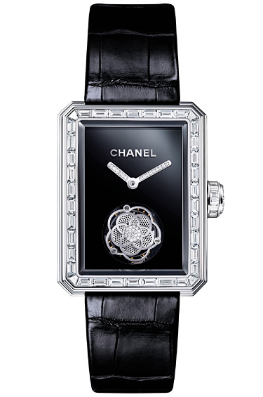 Chanel 1 - Por motivo del 25 aniversario de relojes Chanel, nace el Premiere Tourbillon Volante