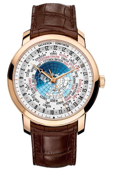 Vacheron Constantin 1 - Un reloj único que indica los 37 husos horarios del mundo fácil de usar