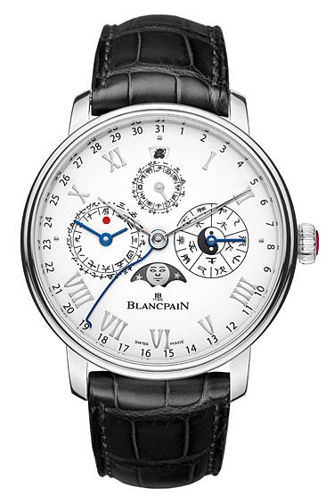 Blancpain 1 - El Villeret Calendrier Chinois Traditionnel, el primer reloj de pulsera de su tipo