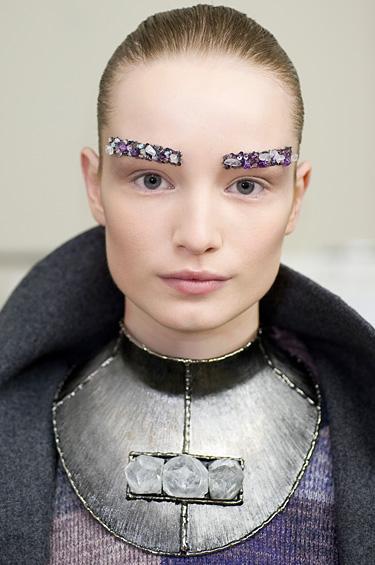 Chanel 1 - El maquillaje de la colección RTW 2012-13 OI de Peter Philips