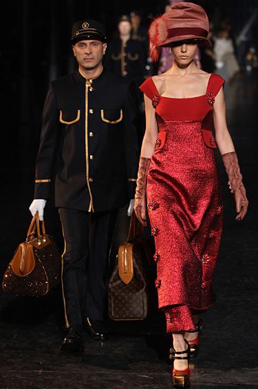 Louis Vuitton 1 - Diseños inspirados en los tiempos del transporte en ferrocarril