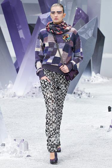 Chanel 1 - La multifacética colección Prêt-à-Porter Otoño-Invierno 2012-2013