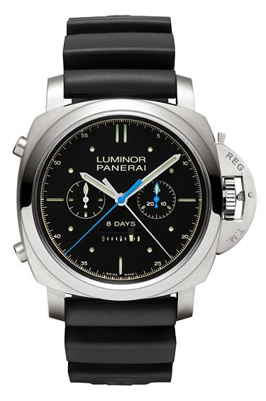 Panerai 1 - El nuevo reloj de Panerai, Luminor 1950 Rattrapante 8 Days Titanio