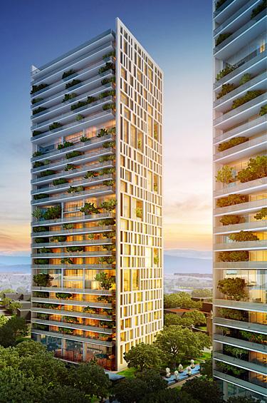 Central Park 1 - Un privilegiado complejo residencial, corporativo y comercial