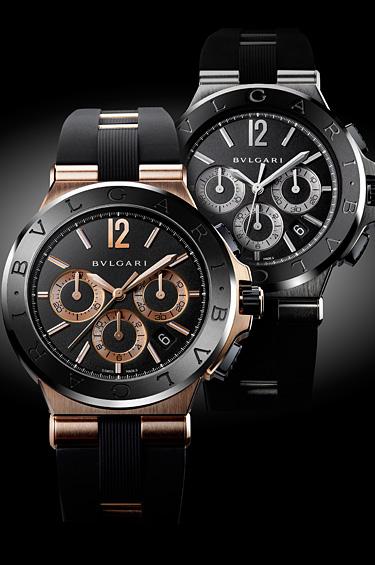 Panerai 1 - Bulgari presenta su nuevo reloj Diagono Ceramic