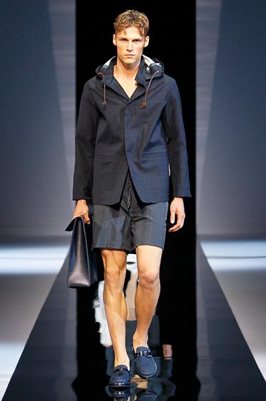Emporio Armani 1 - Emporio Armani trae su colección primavera-verano 2013 para hombre
