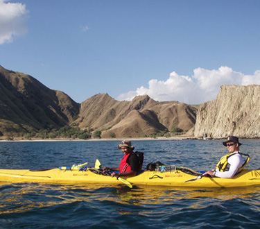 Quintessentially 1 - Quintessentially: Komodo Kayaker