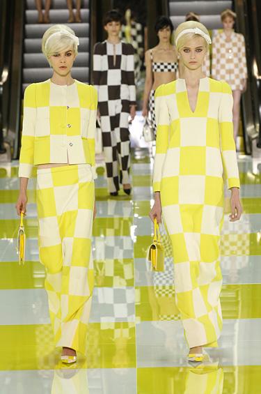 Louis Vuitton 1 - Regresan los 60s con la colección para mujer de Louis Vuitton