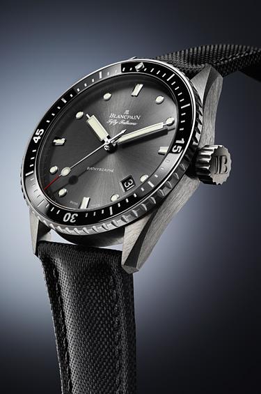 Blancpain 1 - Blancpain saca su nueva línea de relojes Fifty Fathoms Bathyscaphe