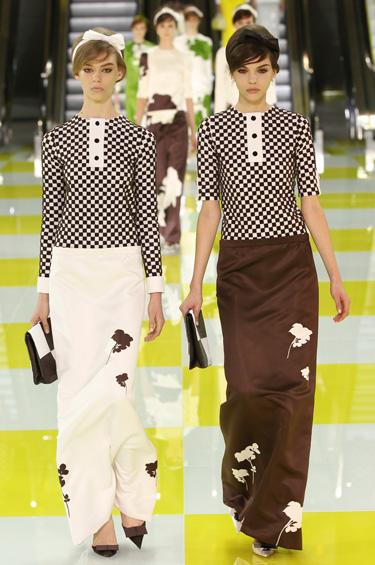 Louis Vuitton 1 - Louis Vuitton presenta su nueva colección basada en los años 60