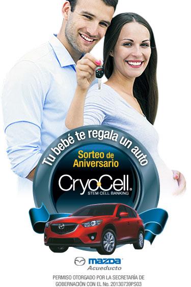1 - Cryo-Cell festeja su aniversario con el sorteod e un Mazda CX-5