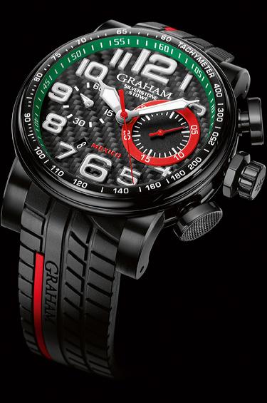 Graham 1 - Graham presenta su reloj Silverstone Stowe Racing Mexico